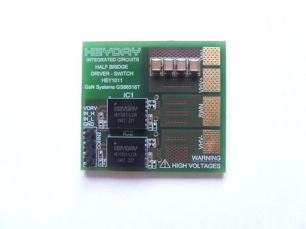 Figure 1: HEY-HBDS-G-12A1-A Evaluation Board