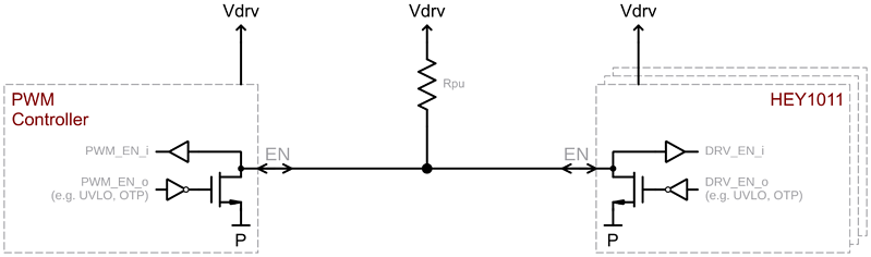 fig8 example wired AND connection